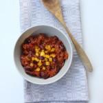 Chilli con carne ar dārzeņiem
