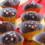 Kokosriekstu šokolādes trifeles