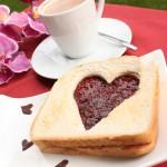 Valentīndienas tostermaize