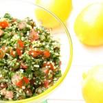 Tabouleh jeb libāņu pētersīļu salāti