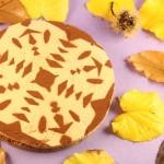 Siera kūka ar piparkūku cepumu garšu