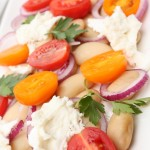 Veselīgie balto pupiņu salāti