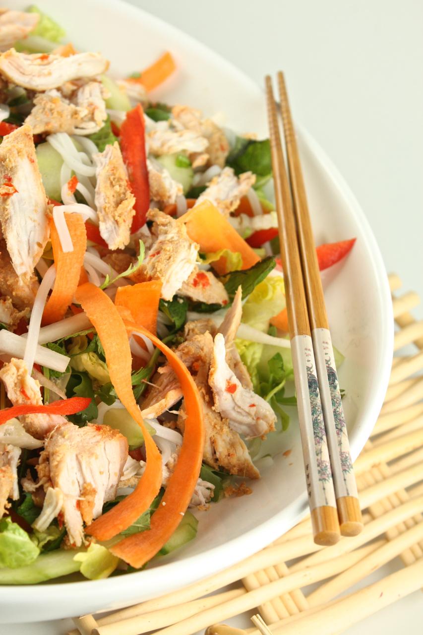 Taizemiešu nūdeļu salāti - 29