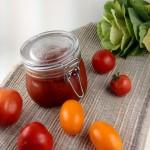 Mājas kečups no dārza tomātiem