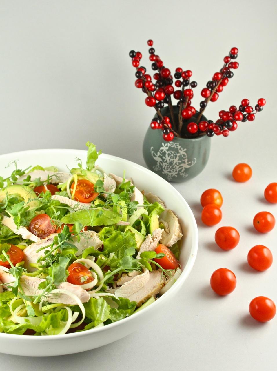 Žāvētas vistas salāti - 03