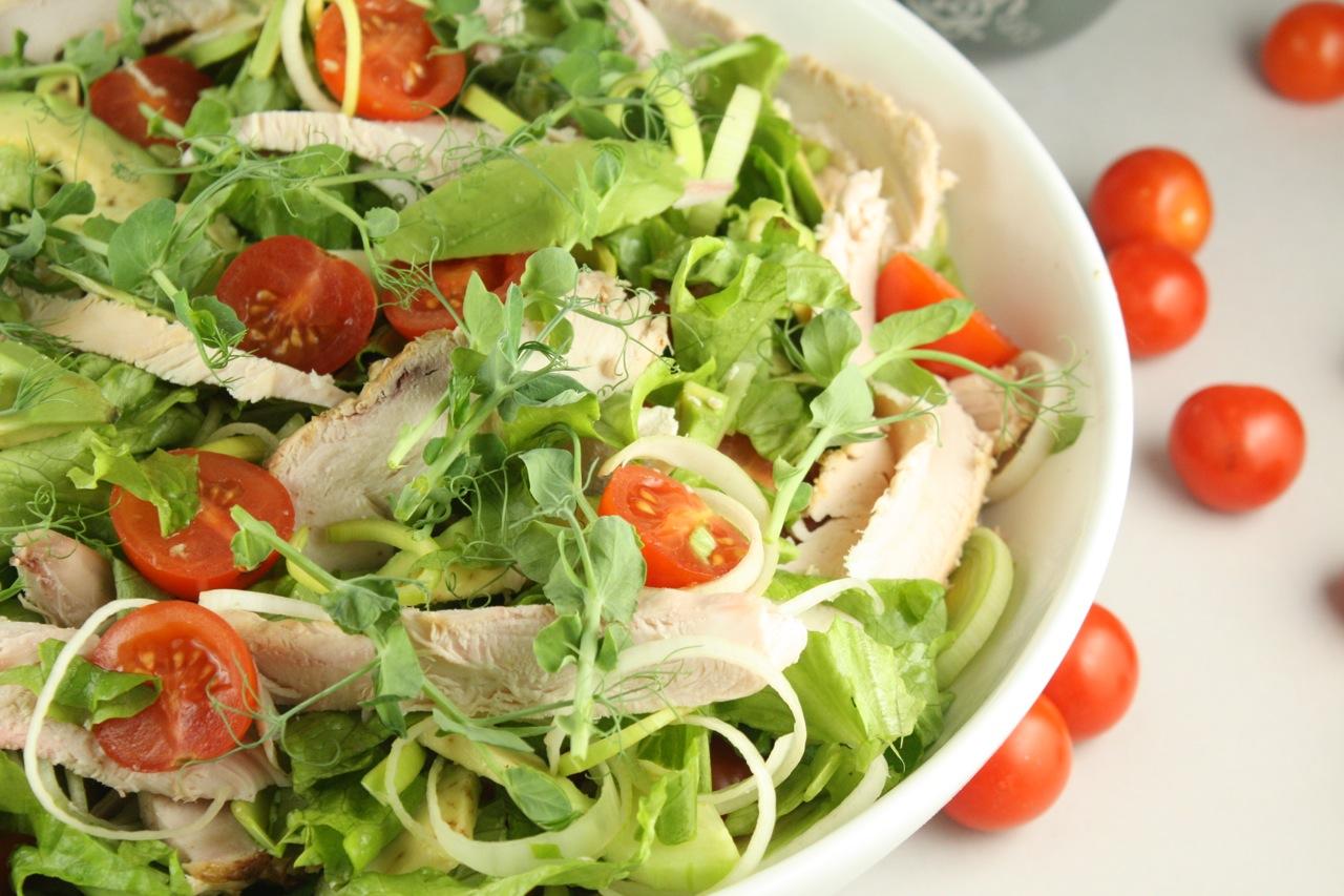 Žāvētas vistas salāti - 30