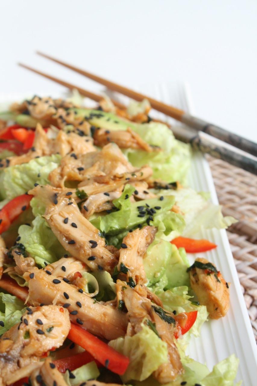 Siltie vistas salati Azijas gaume - 24