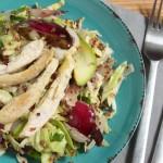 Vistas un jauno dārzeņu salāti