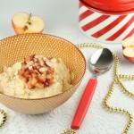Karaliskā rīsu putra ar kanēli un mandelēm