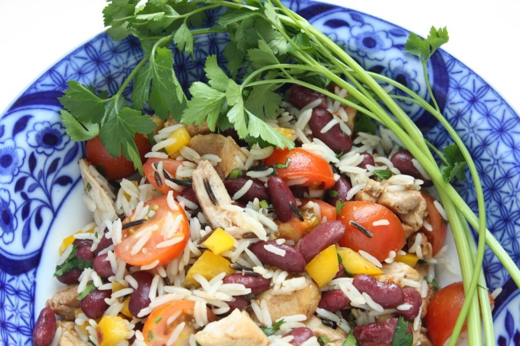 Rīsu un pupiņu salāti - 30