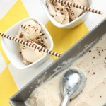 Veselīgais banānu saldējums