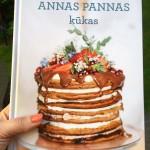 """Iznākusi grāmata """"Annas Pannas kūkas"""""""
