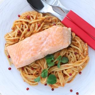 Spageti_lasis tomatu pesto - 101-2