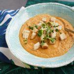 Saldā kartupeļa un ziedkāpostu krēmzupa