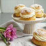 """""""Semlor"""" jeb zviedru marcipāna maizītes"""
